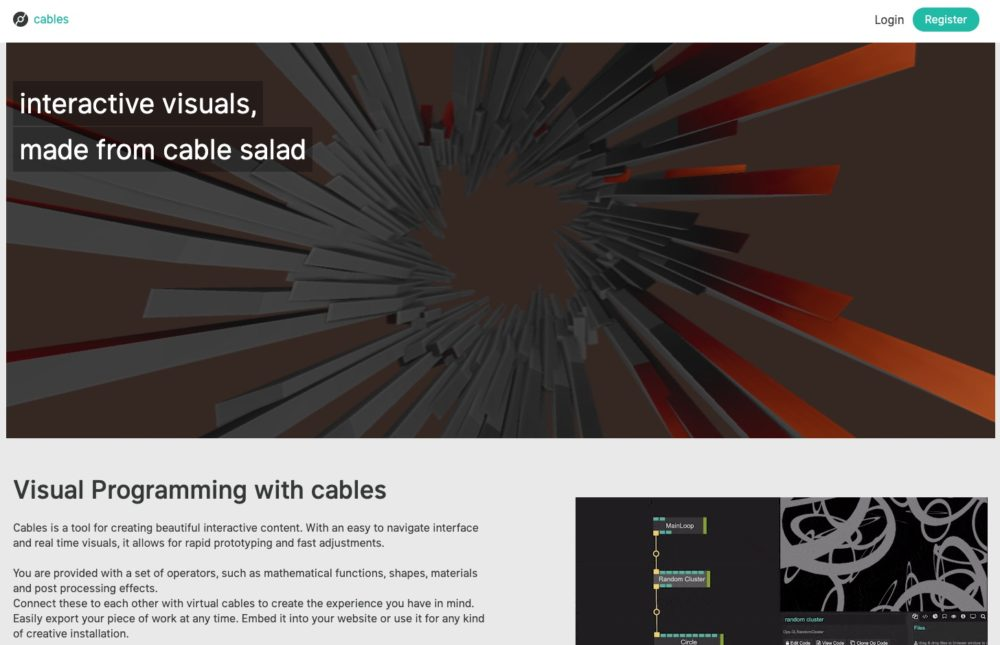 cables website